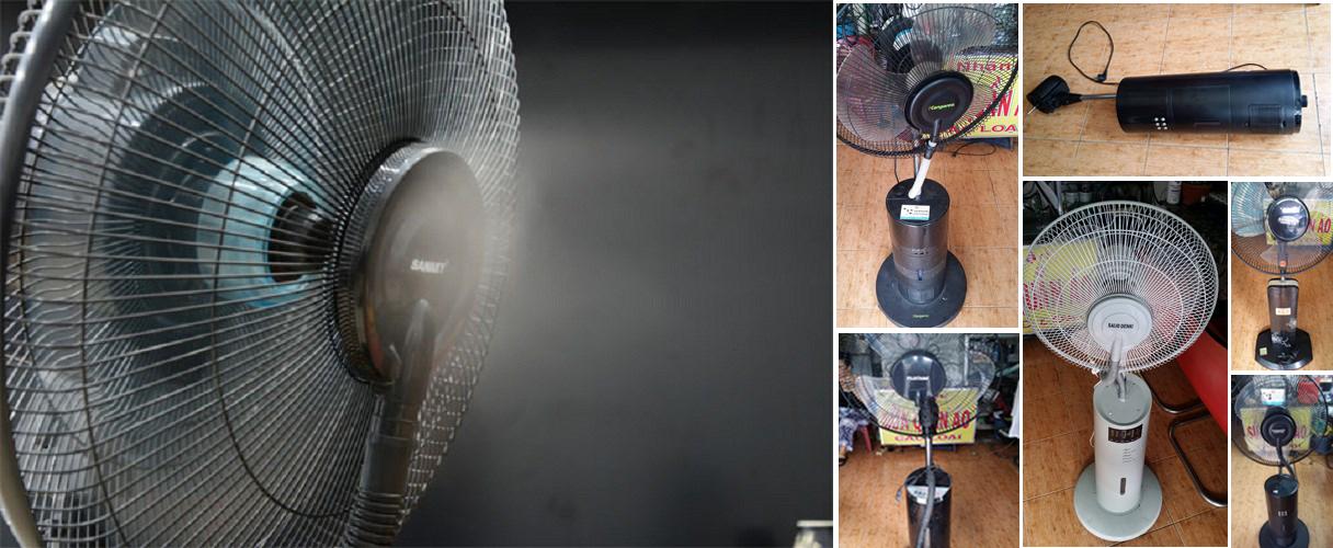 Sửa quạt phun sương/hơi nước tại Tphcm – Điện Cơ Hữu Thịnh – Sửa chữa quạt phung sương có uy tín có bảo hành